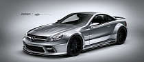 Renown Sidewinder Wide Body Kit for Mercedes-Benz SL