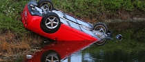 Rental Corvette Crashes, Flips into Florida Canal