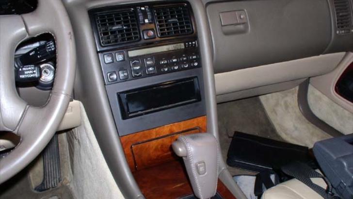 service manual  1991 lexus ls centre trim panel removal
