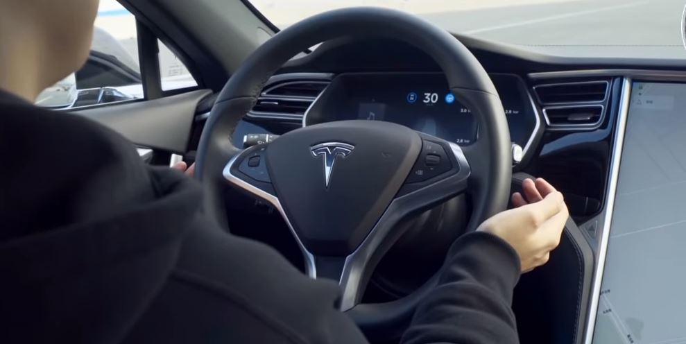 Hackers 'trick self-driving Tesla' into driving into wrong lane using stickers