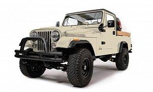 Restomodded Jeep CJ-8 Scrambler by Ball and Buck Looks Really Macho