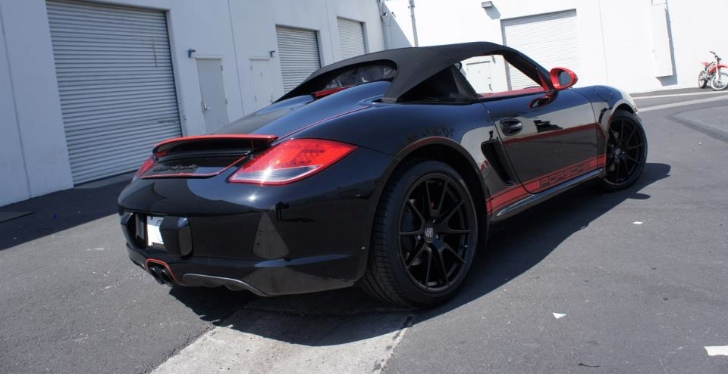 Retouched Porsche Boxster Spyder by The R's Tuning [Photo Gallery]