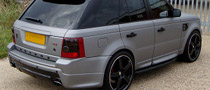 Revere London Dresses the Range Rover Sport in Grey Carbon Fiber