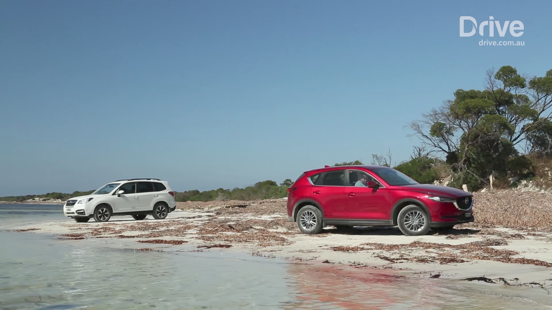reviewer pits the 2017 mazda cx 5 against the subaru. Black Bedroom Furniture Sets. Home Design Ideas
