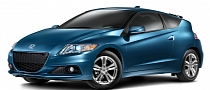 Revised 2013 Honda CR-Z Arrives in the US [Photo Gallery]