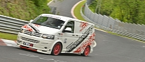 Revo Volkswagen T5 Smashes Nurburgring Van Lap Record [Video]