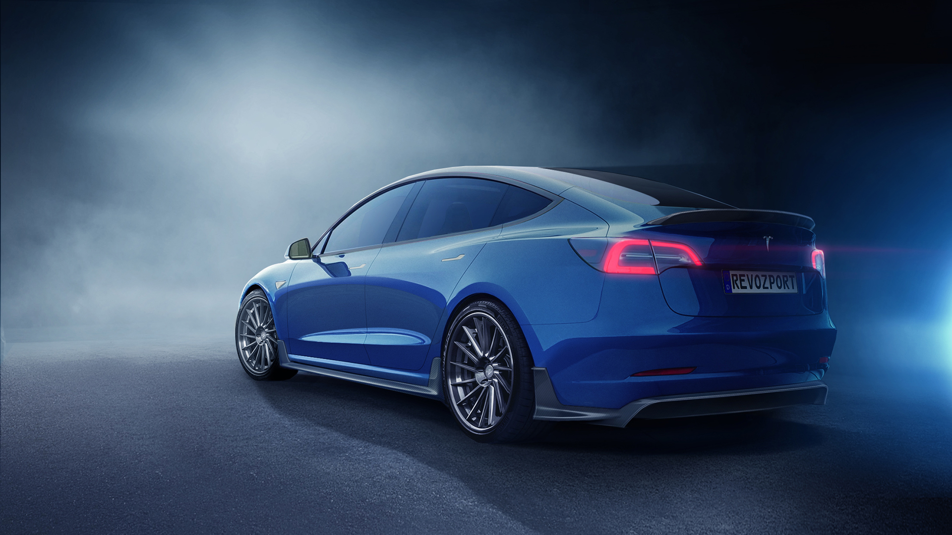 RevoZport Offers Two Body Kits For Tesla's Model 3