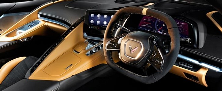 RHD 2021 Chevrolet Corvette Stingray Z51 Reveals Interior ...