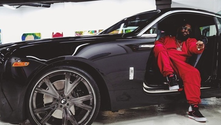 Rick Ross Gets Forgiato Wheels On His Rolls Royce Wraith