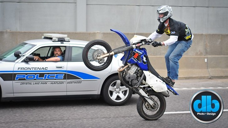 Ride of the Century 2011: Bikers Defy Police with Illegal Stunts [Photo Gallery]