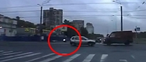 Rider Makes Huge Mistake, Crashes into Bus [Video]
