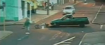 Rider Unscathed after Jumping over Car's Bonnet [Video]