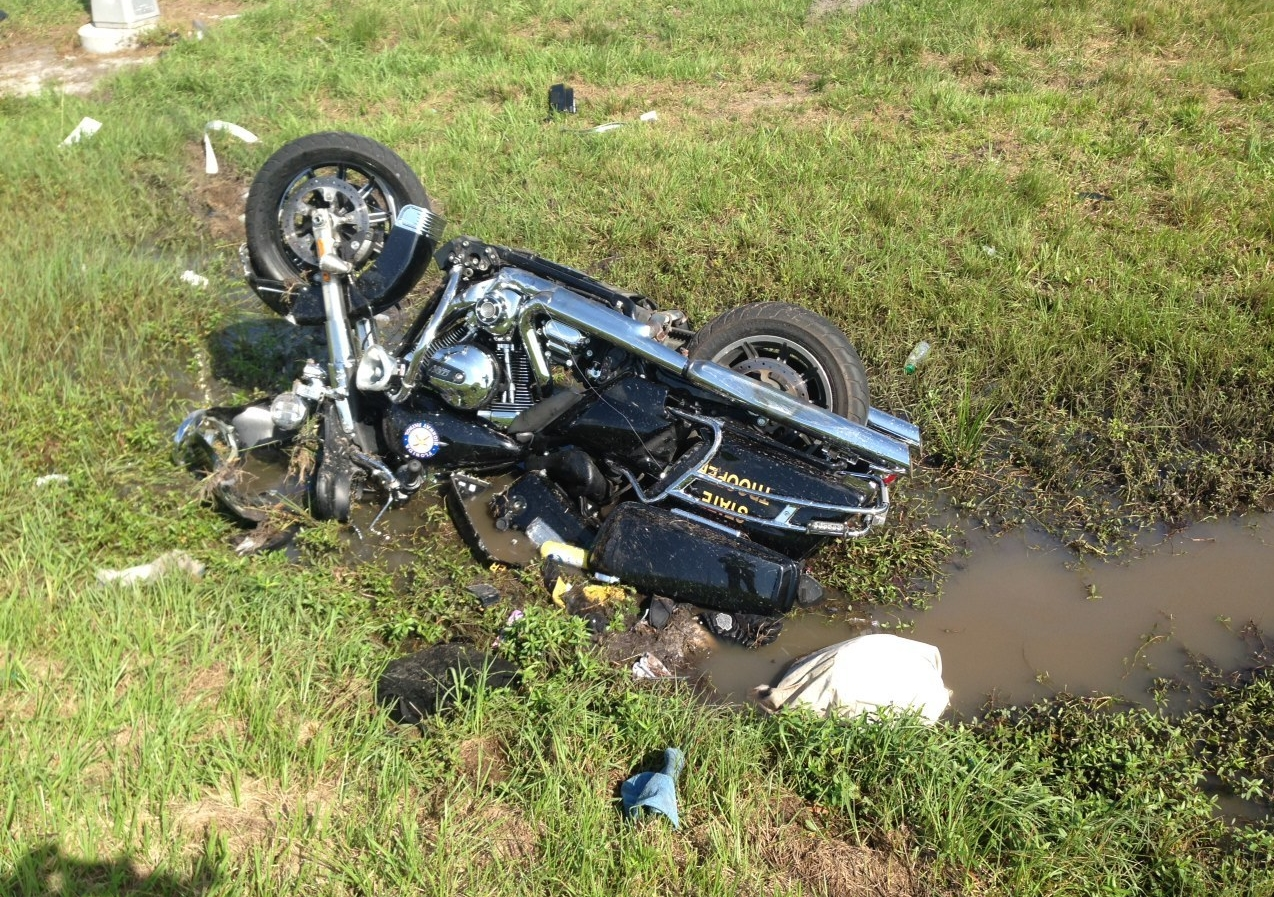 Rider Survives Eight Days Trapped Under His Crashed Bike