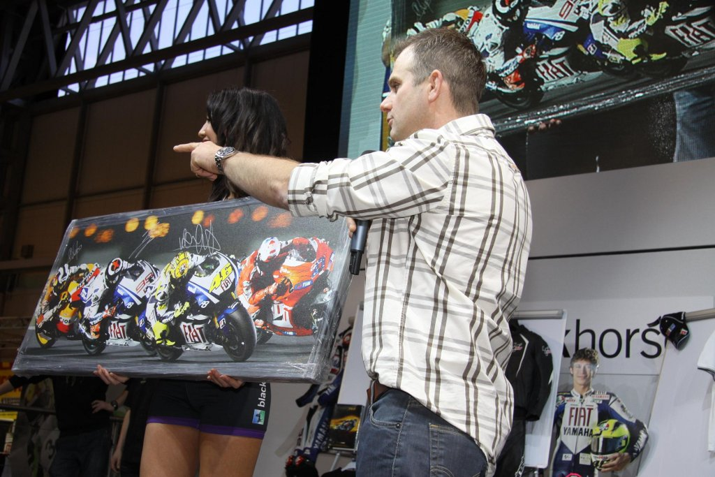 Riders For Health Charity Auction At Motorcycle Live