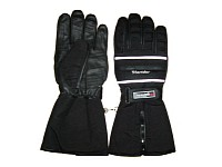 Special winter gloves are mandatory for riding in the cold