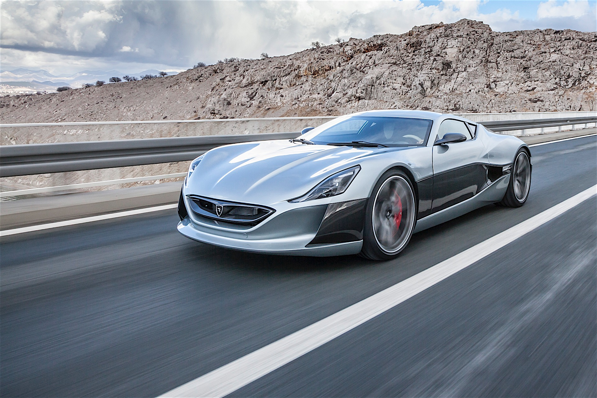 Rimac Concept One World S First Electric Hypercar Revealed In Production Guise