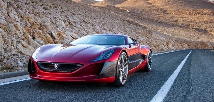 Rimac Concept_One to Debut at the Salon Privé in September