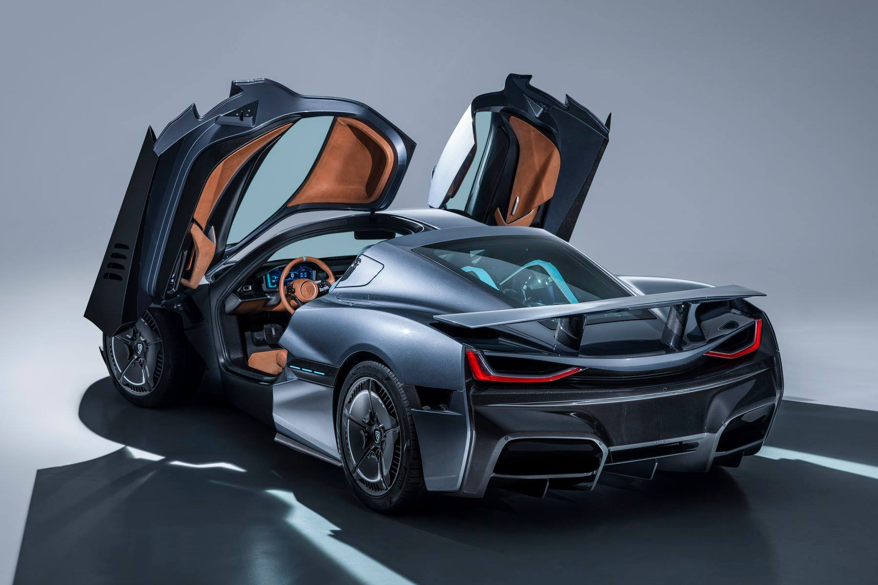 forget about tesla roadster ii here 39 s the rimac c two electric hypercar autoevolution. Black Bedroom Furniture Sets. Home Design Ideas