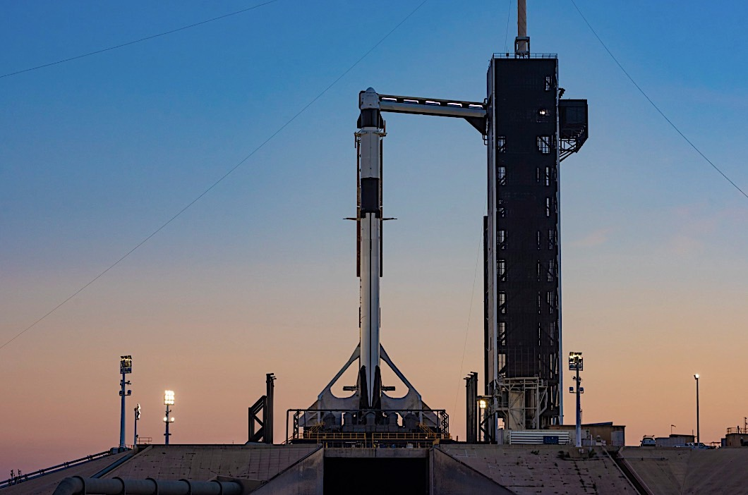 SpaceX set for crew demo launch