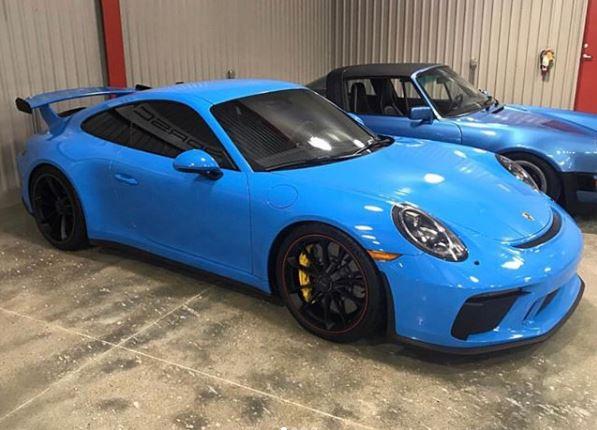 Riviera Blue 2018 Porsche 911 GT3 Has Striking Wheel Spec ...