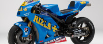 Rizla Suzuki Shows New Livery for 2010