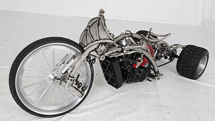 Rk Thing Custom Bike Is Truly Scary Autoevolution
