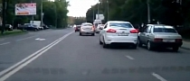 Road Rage Strikes Again in Russia [Video]