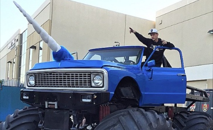 Rob Dyrdek Bought a Unicorn Monster Truck, But Why ...