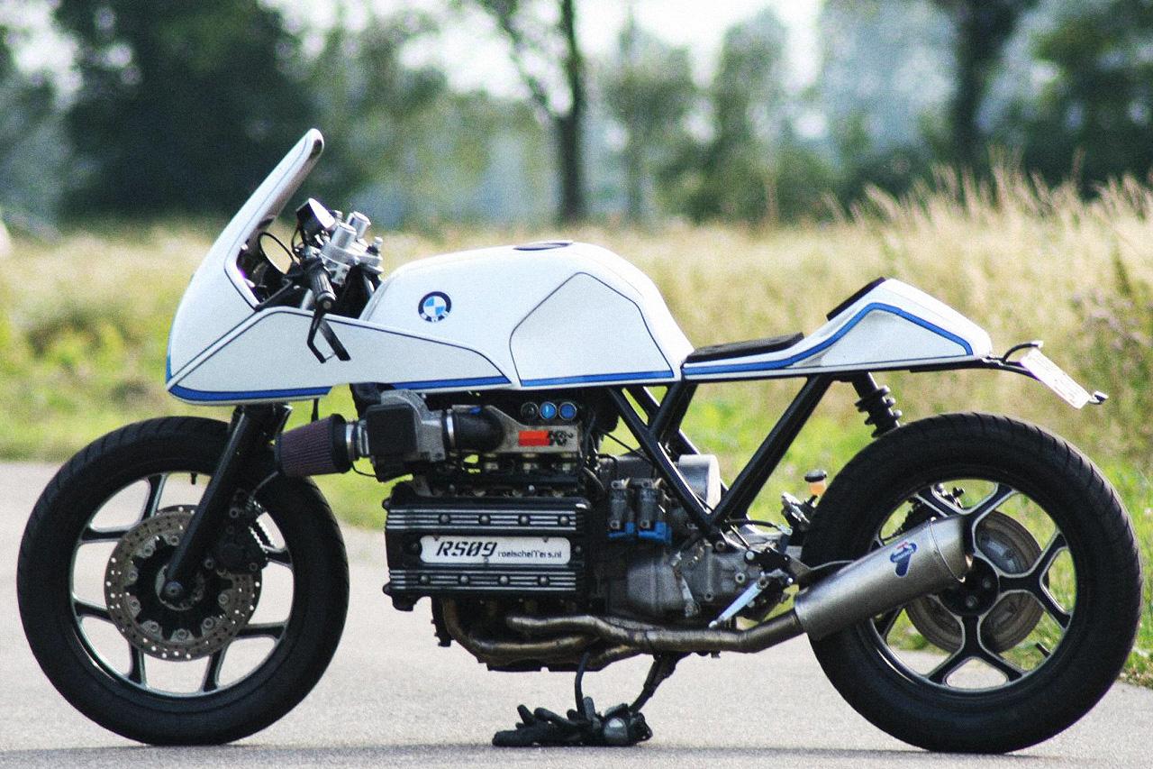 Roel Scheffers' Custom BMW K100RS, New Racing Life for Old Bike