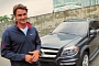 Roger Federer Presents the 2013 Mercedes GL [Video]