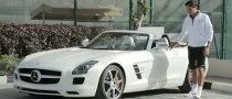 Roger Federer Puts 2012 SLS AMG Roadster Through Its Paces [Video]