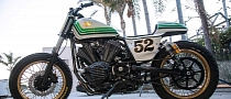 Roland Sands Creates the Star Bolt Flattracker [Photo Gallery]