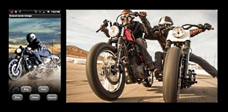 Roland Sands Design Android App Makes Appearance