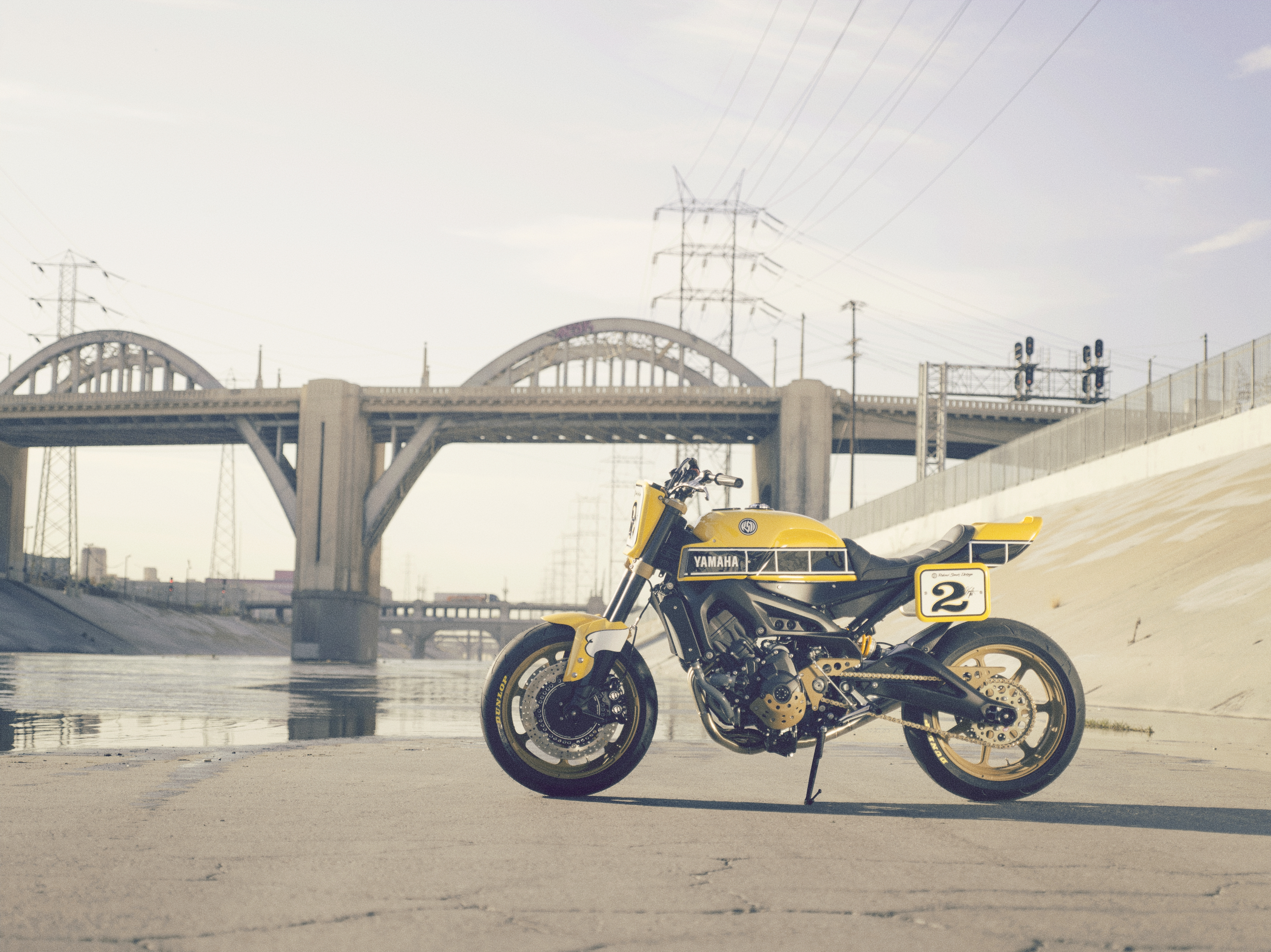 Roland Sands Faster Wasp Previews The Yamaha XSR900