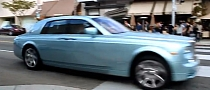 Rolls Royce 102EX Electric Concept Spotted in California [Video]