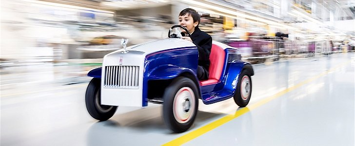 Rolls royce builds a car for kids it is for charity for How to buy a car from charity motors