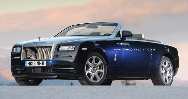 rolls royce confirms wraith coupe will drop its top in 2015 autoevolution. Black Bedroom Furniture Sets. Home Design Ideas