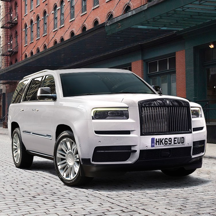 Rolls-Royce Escalade Looks Like The Luxury SUV Happening