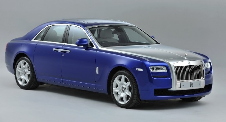 Rolls Royce Ghost 2013 Model Year: Minor Updates