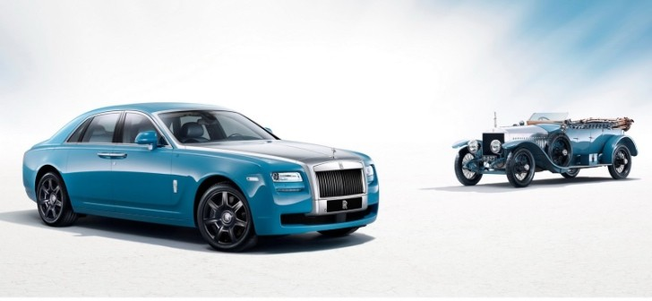 Rolls-Royce Ghost Alpine Trial Centenary Edition Revealed