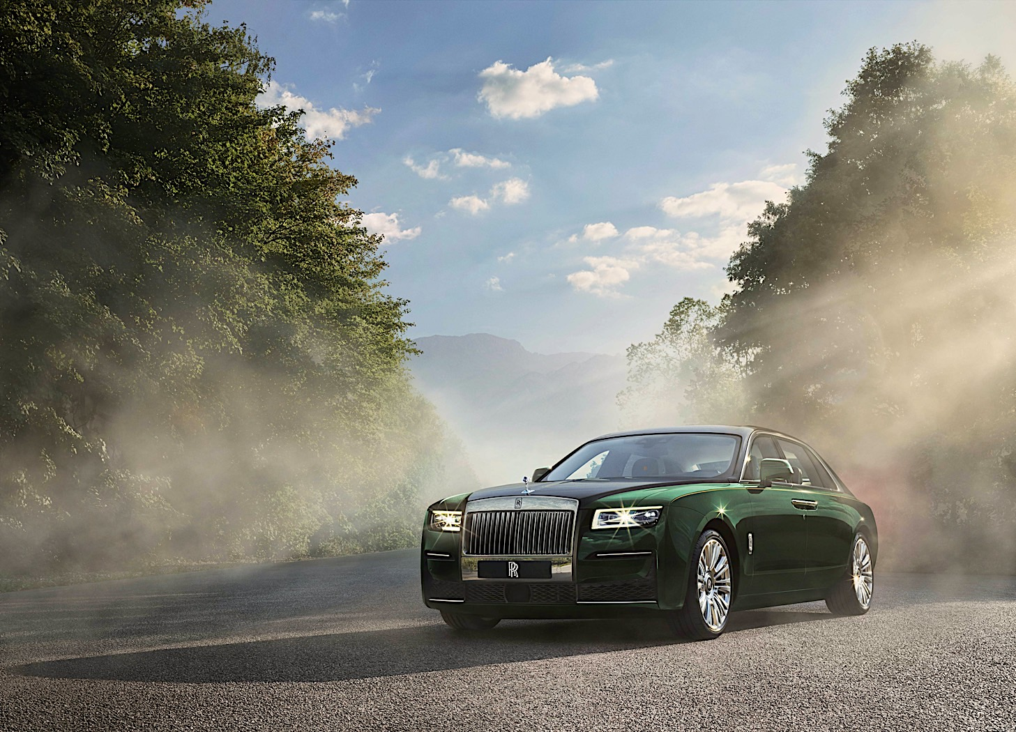 The Rolls-Royce Ghost Extended is a very long luxury vehicle