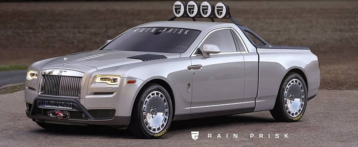 Rolls-Royce Ghost Pickup Truck Rendering Is a Huge ...