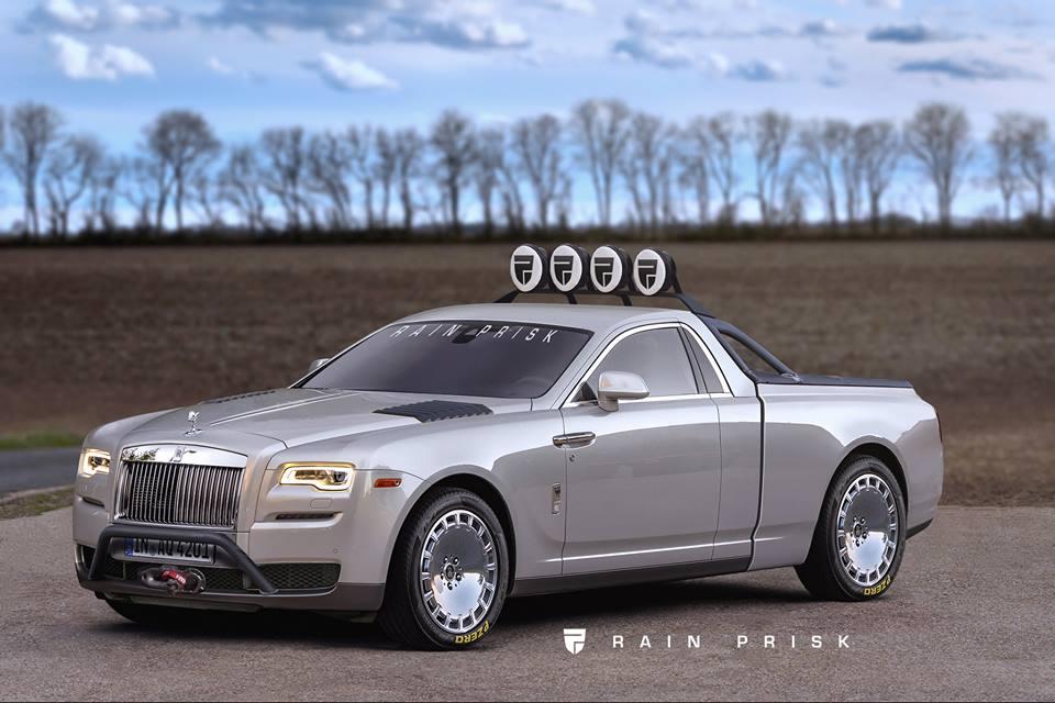 Rolls-Royce Ghost Pickup Truck Rendering Is a Huge ...