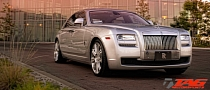 Rolls-Royce Ghost Rides on HRE Wheels [Photo Gallery]