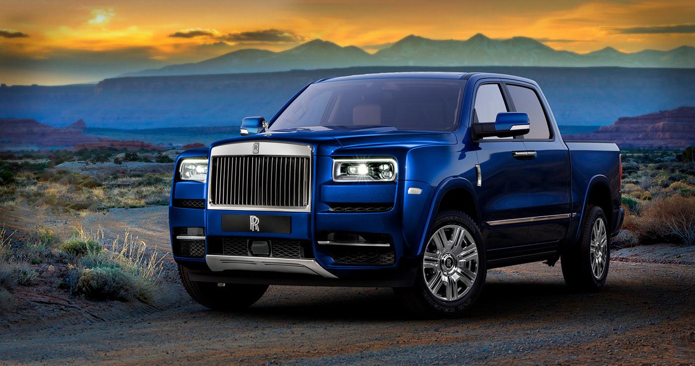 "Rolls-Royce ""Luxury Truck"" Rendering Isn't Your Typical ..."