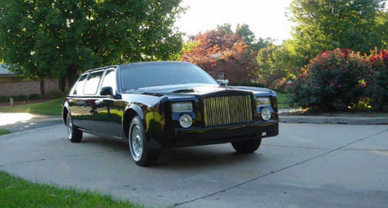 Rolls-Royce Phantom Replica was spotted in St. Pete Beach, Florida ...