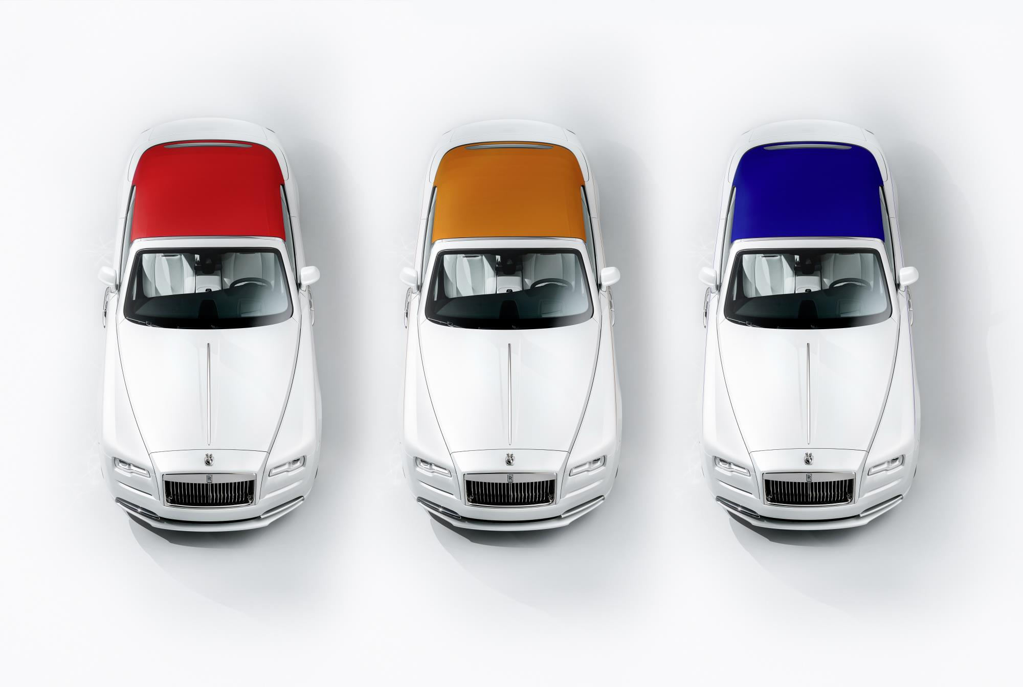Rolls-Royce Presents Dawn Convertible With Red 2ad84ea1c