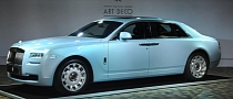 Rolls-Royce Reveals Ghost Extended Wheelbase Art Deco Edition