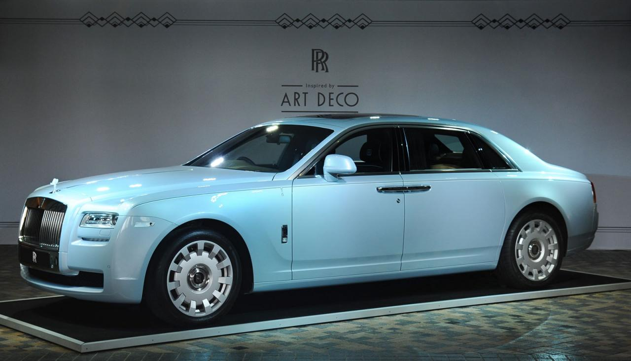 Rolls Royce Reveals Ghost Extended Wheelbase Art Deco