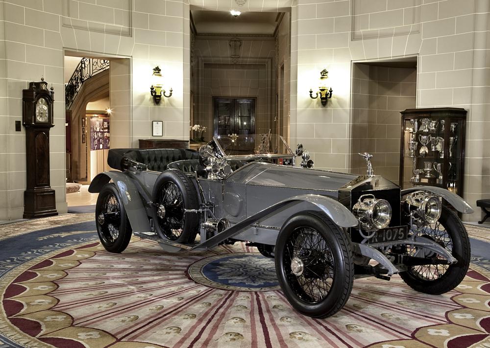 rolls royce silver ghost 39 top gear 39 london edinburgh trial. Black Bedroom Furniture Sets. Home Design Ideas
